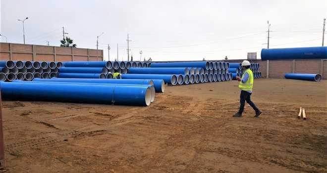 Sectorización del Sistema de agua potable y alcantarillado de la parte alta de Chorrillos